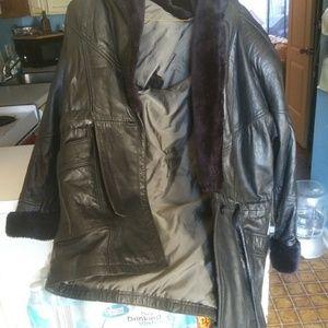 Wilson men's leather jacket